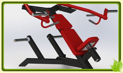 Тренажер предназначенный для тренировок грудных мышц